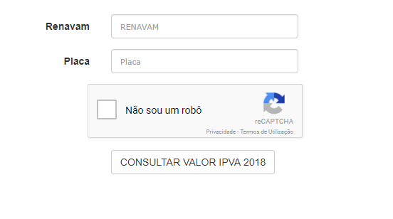consulta ipva 2018